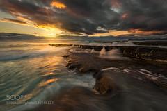 Sensuality (fotoflatratech) Tags: ocean park light seascape colour water sunrise rocks waves curves national friendly beaches tasmania bleed sensuality freycinet 500px ifttt fotoflatrate