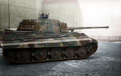 King-Tiger (chusvicario) Tags: war tank wwii german colored kingtiger