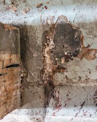 Beam Shadow (WalrusTexas) Tags: shadow urban abstract floor pillar straightdown urbanabstract earthtone