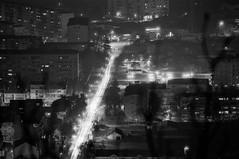 Skopje from Vodno (Custom Illusion) Tags: city panorama white black film monochrome lights nikon 300mm macedonia 100 pan f3 nikkor ilford skopje vodno ilfordpan100 filmisnotdead film:brand=ilford film:iso=100 developer:brand=adox adoxadonal film:name=ilfordpan100 developer:name=adoxadonal filmdev:recipe=10573
