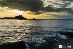Amanecer Dorado (Miguel Angel Lillo Fotografa) Tags: espaa sol mar nikon murcia amanecer cielo nubes tamron mediterrneo aguilas d3200 1750mm28