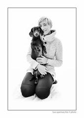 LUC_5538 copia (Spenny71) Tags: family portrait bw dog dogs cane friend famiglia bn friendly ritratti amicizia cani progetto spennacchio spenny71