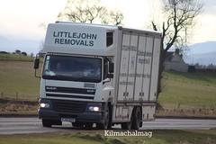Littlejohn Removals DAF CF PJ52 EHY A9 Tomich (Kilmachalmag) Tags: truck cafe furniture removals a9 daf tomich dafcf