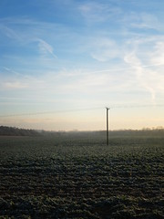 Frosty field (AMcUK) Tags: winter field landscape dawn frost fuji fujifilm xf1 fujixf1