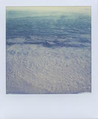 (JoexEdge) Tags: ocean sea black color film water project polaroid sx70 jetty getty instant cape 20 cod impossible