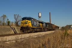 CSX A746 at SE Opelkia (travisnewman100) Tags: railroad atlanta train desk local mm division ge freight ae csx subdivision manifest ac44cw es40dc