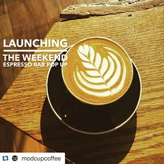 Starting this Saturday we will have an espresso bar POPUP with @modcupcoffee. Come experience what 100% Grass Fed milk and fresh beans can do! Weekends only 9-5 pm. Come and join Anakin. #jerseycity #jcmakeityours #jceats #jcdrinks #jcscoop (bucketandbay) Tags: jerseycity gelato bucketandbay