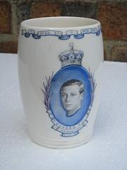 Unusual Edward V111 Royal Coronation Mug 12th May 1937 ...He never became King as he Abdicated (beetle2001cybergreen) Tags: never king may royal edward mug unusual he 12th v111 coronation 1937 became abdicated