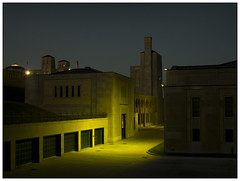 R.C. Harris Water Treatment Plant (Harry -[ The Travel ]- Marmot) Tags: city urban toronto ontario canada night dark evening darkness nacht le avond nocturne stad donker duister waterzuiveringsinstallatie rcharriswatertreatmentplant olympusomdem5 lumixgvario1235f28 allrightsreservedcontactmebyflickrmail