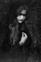 *** ([ theresa ]) Tags: trees portrait white black art texture monochrome beauty rose mystery fairytale forest ga vintage dark georgia photography tears hand heart emotion song background w gothic goth dream monochromatic story theresa augusta dreamy concept emotional conceptual timeless caprica obession a of
