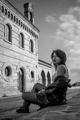 . (Antonella Giuliano) Tags: portrait blackandwhite girl 24mm conceptual biancoenero ragazza sacro concettuale profano eos700d
