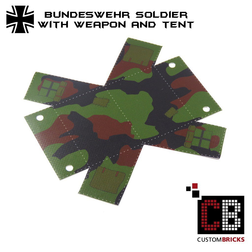 e73c862ad00e Lego Custom Zelt Custombricks Tent camo CB0 (LA-Design2012) Tags  army us