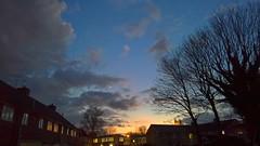 Sunset (gemmasmith665) Tags: street city sunset sky moon nature skyline night clouds skyscape cityscape dusk vivid colourful