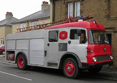 AJH 556B (2) (Nivek.Old.Gold) Tags: bedford fire pump ladder dennis hertfordshire 1964 tk kelz