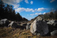 Nature (aaroneckphoto) Tags: sky nature rock dof