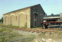 Bitton station (9), 1978 (Blue-pelican-railway) Tags: film station bristol closed railway gloucestershire bitton beeching