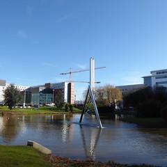 Birmingham Conservatoire (metrogogo) Tags: birmingham lakes fountains astonuniversity waterfeatures birminghamconservatoire