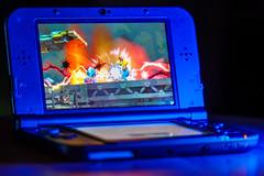 332/365: Smash :) (haslo) Tags: man mobile portable nintendo super mario olympus gaming tele 3ds omd mega megaman em1