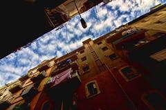 Calles de Barcelona (ancama_99(toni)) Tags: barcelona street sky architecture clouds calle arquitectura nikon tokina cielo 10faves 1116mm d7000 nbes