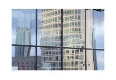 Alpha Tower Reflected (Pictures from the Ghost Garden) Tags: uk windows urban architecture buildings reflections birmingham nikon unitedkingdom dslr westmidlands urbanlandscape 18105mm d7100