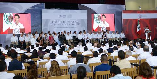 El gobernador Javier Duarte de Ochoa asistió a la Reunión Nacional de Protección Civil