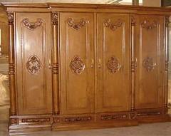 Almari Pakaian Mewah Ukir Kayu Jati (sunnijati) Tags: kayu jati almari pakaian ukir mewah