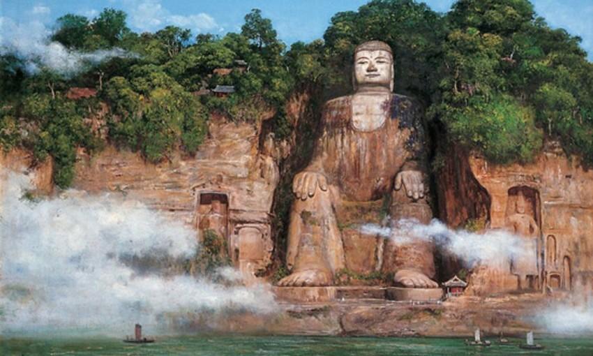 Китай_Планината-Ъмейшан-и-статуята-на-«Големия-Буда»-в-Лешан-850x510