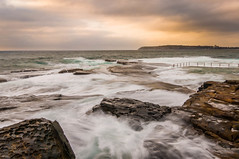 North Curl Curl Swells (dave.gti) Tags: ocean seascape nature sunrise landscape rocks australia nsw curlcurl oceanscape