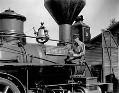 "Buster Keaton in ""The General"" (Static Phil) Tags: busterkeaton marionmack moviepicture jimfarley glencavender frederickvroom"
