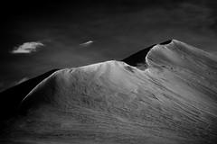 Snowy Peaks (Dan Fleury Photos) Tags: sky cloud mountain snow west is iceland snowy mount peaks bnw