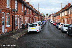 T - Terrace (ChristineGibbs, trying to keep up!) Tags: street city house canon t eos terrace leicester az terracedhouses eos7 terracedstreet canon1855usm azproject
