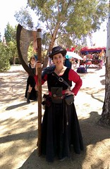 Axe Lady (L Westy) Tags: axe fairhaven trip2 2016 executioner arizonarenaissancefestival