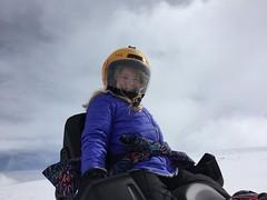 Snowmobiling at Camp Hale - Colorado (vwcampin) Tags: colorado iphone snowmobiling camphale novaguides