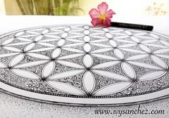 Flower of Life - IvysArt (ivysanchez14) Tags: art artwork artist arte photooftheday inkart artistonflickr artoftheday