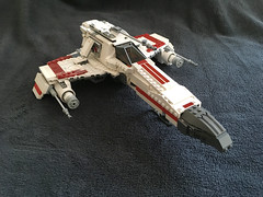 IMG_1233 (lee_a_t) Tags: starwars fighter lego xwing spaceship ewing rebels starfighter darkempire legoxwing legostarfighter legoewing