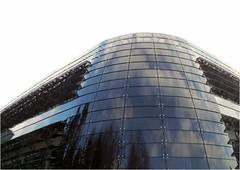 Fasade (horidole) Tags: architektur schwarzwald gebude glas kurve fasade altensteig boysen