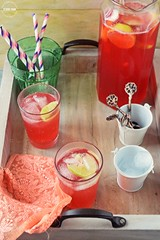 Summer Cranberry Lemon Fizz (lubnakarim06) Tags: summer lemon drink cranberry icecubes syrup citrus cooler refreshing fizz pinkdrink summerdrink partydrink rejuvenating nonalcoholicbeverage flavoursome nonalcoholicdrink