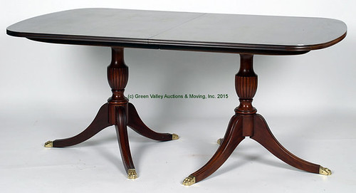 Hinkle Harris Table w/ 4 Leaves & Pads - $660.00 (Sold April 24, 2015)