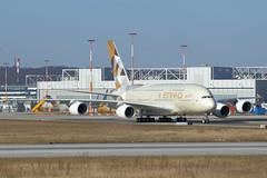 F-WWSK // Etihad Airways // A380-861 // MSN 198 // A6-APG (Martin Fester) Tags: airplane aircraft aib hamburg airbus a380 msn etihadairways 198 finkenwerder cff edhi airbusindustrie a388 xfw a380861 fwwsk msn198 cabinfirstflight xfwedhi a6apg aib198b