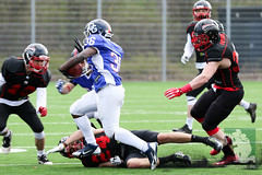 "GFL Juniors Dortmund Giants vs. Düsseldorf Panthers 09.04.2016 005.jpg • <a style=""font-size:0.8em;"" href=""http://www.flickr.com/photos/64442770@N03/25727934803/"" target=""_blank"">View on Flickr</a>"