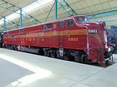 Pennsylvania Railroad 5901 (CPShips) Tags: prr emd railroadmuseumofpennsylvania e7a