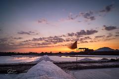 350 - (Gladson777) Tags: sunset india reflection beautiful rural skyscape landscape evening long exposure village sony side country salt 1855 alpha mumbai sodium slt chloride pans nacl a58 55200 vasai ponda bhuigaon naigaon