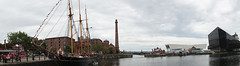 Canning Dock - Liverpool (Chris Dimond) Tags: liverpool pano ships panoramic 2015 portofliverpool canningdock