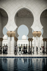Mosque 1 (monochromia - jeremy chivers) Tags: march mosque abudhabi 2016 sheikhzayedmosque