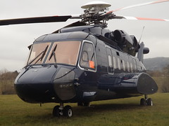 G-LAWX Sikorsky 92 Helicopter Starspeed Ltd (Aircaft @ Gloucestershire Airport By James) Tags: james helicopter ltd cheltenham lloyds helipad sikorsky s92 starspeed glawx