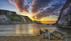 St Oswald's Bay at Sunrise 01 (NGT Images) Tags: door st sunrise coast seascapes dorset durdle oswalds