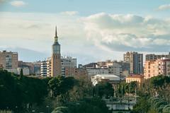 Torre de la Cmara de Comercio (Juanedc) Tags: park parque espaa spain europa europe zaragoza aragon es saragossa parquegrande bigpark