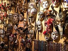 Venetian masks ....... (abbietabbie) Tags: paris beads masks venetian ilestlouis