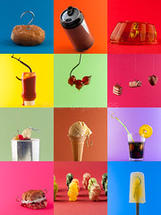 Hooked On Sugar  (AlanOrganLRPS) Tags: food fruit tomato healthy cherries babies ketchup cola chocolate cream can sugar drinks icecream doughnut jelly scone hook jam foodanddrink bait glace hooked diabetes healthyeating icelolly healthylifestyle sugartax additivesinfood hookedonsugar
