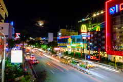 Angkot Light Trail (Edwin Yuliandri) Tags: night balikpapan xa1